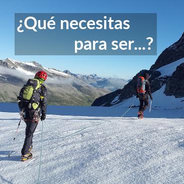 ¿Qué necesitas para ser Técnico Deportivo de Montaña y Escalada?